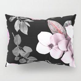 Night bloom - pink blush Pillow Sham