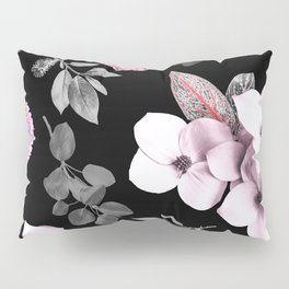 Night bloom - pink blush Pillow Sham