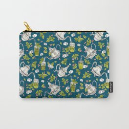 Moroccan Mint Tea Carry-All Pouch