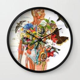 Muscles Wall Clock
