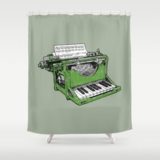 The Composition - G. Shower Curtain