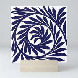 "William De Morgan ""Decorative scroll"" 2. Mini Art Print"