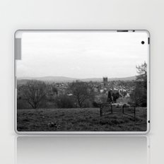 Bench over the Town Laptop & iPad Skin