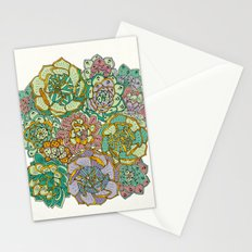 Blooming Succulents Stationery Cards