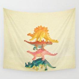 Dinosaur Antics Wall Tapestry