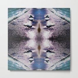 97 - Seashore abstract Metal Print
