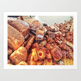 Delicious Choices Art Print