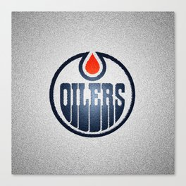 OilersLogo Canvas Print