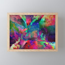 Psychedelic Framed Mini Art Print