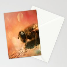 Bokeh Bee Stationery Cards