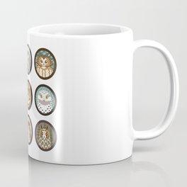Owls of the Eastern United States Coffee Mug