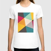 triangles T-shirts featuring Triangles by Gary Andrew Clarke