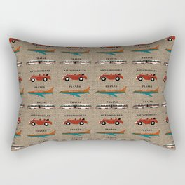 Planes, Trains and Automobiles Rectangular Pillow