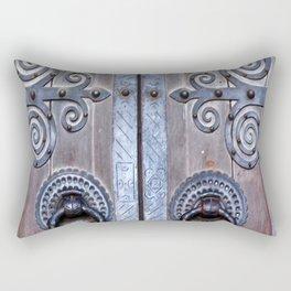 Lisbon Portugal Doorway Rectangular Pillow