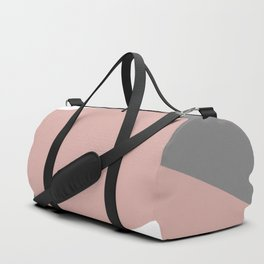 Shapes decor 2opposite. minimalist. line. stripes. Duffle Bag