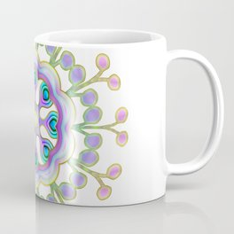Moon Flower Mandala Coffee Mug