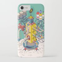 argentina iPhone & iPod Cases featuring Rasti / Industria Argentina by Martin Orza