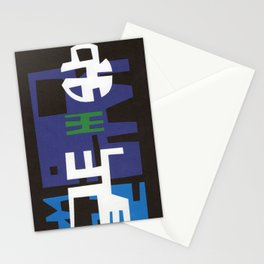 LUNA LLENA EN EL PUEBLO Stationery Cards