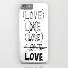 XLOVE Slim Case iPhone 6s