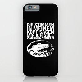 Lustige Angler und Fischer Geschenk Sprüche iPhone Case