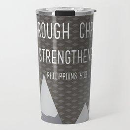 I CAN // Philippians 4:13 Travel Mug