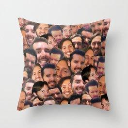Buestas Throw Pillow