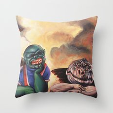 Ghoulubs Throw Pillow