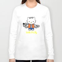 mcfly Long Sleeve T-shirts featuring Hello McFly by The Epic Effect