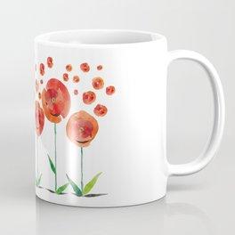 The poppy's bonfire (of emotions and petals) Coffee Mug