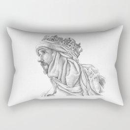 If angels fight, weak men must fall Rectangular Pillow