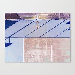 basketball court 3 Canvas Print