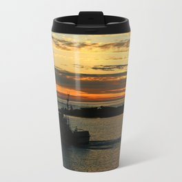 The End Of A Beautiful Day Metal Travel Mug