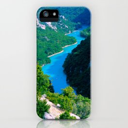 Gorges, Provence, France iPhone Case
