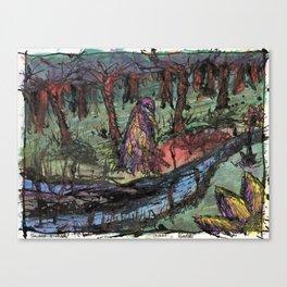Sacred Stream Canvas Print