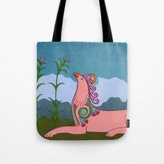 Pink Chimera Tote Bag