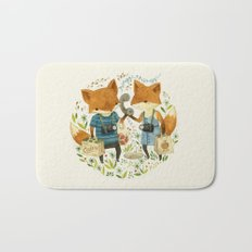 Fox Friends Bath Mat