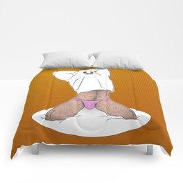 El fantasma presumido Comforters