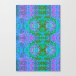Sedated Abstraction II (Ultraviolet) Canvas Print