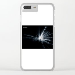 Explozoom on a famous basilica Clear iPhone Case