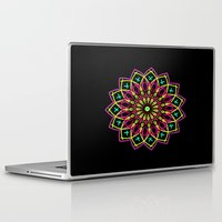 stained glass Laptop & iPad Skins featuring Stained Glass by Designs By Misty Blue (Misty Lemons)
