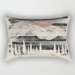 Mountain Lion at Midnight... Rectangular Pillow
