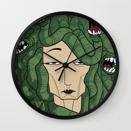 Medusa Wall Clock