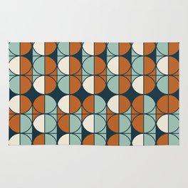 Retro pattern Rug