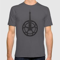 Le Tour de France LARGE Asphalt Mens Fitted Tee