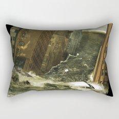 Water vs City Rectangular Pillow