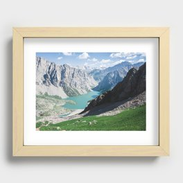 The Holy Lake Recessed Framed Print