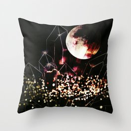space cr Throw Pillow