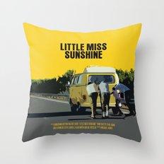 Little Miss Sunshine Movie Poster Throw Pillow
