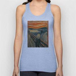 The Scream - Edvard Munch Unisex Tank Top