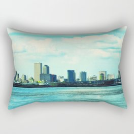 New Orleans Skyline Rectangular Pillow